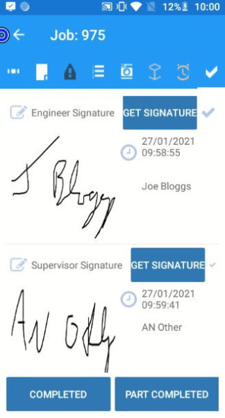 JobPal Signatures